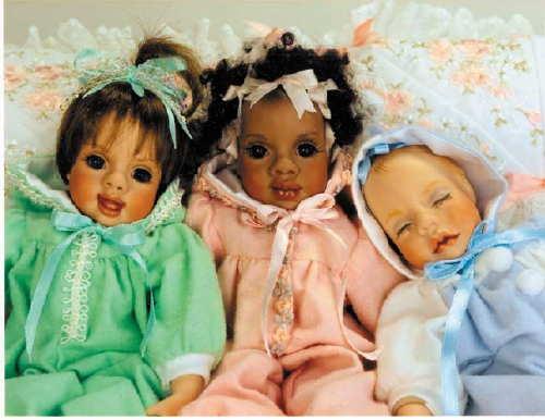Itty Bitty Babies 3 Babies 10 Sizelaughing Sleeping